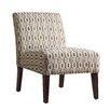 Kingstown Home Novella Honeycomb Print Slipper Chair