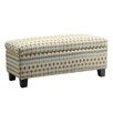 Kingstown Home Kendrick Fabric Storage Bench