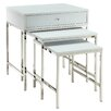 Kingstown Home Givenchy 3 Piece Nesting Table Set