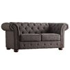 Kingstown Home Carthusia Tufted Button Loveseat