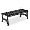 <strong>Rendezvous Steel Park Bench</strong> by Anova