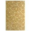 Martha Stewart Rugs Geranium Leaf Hazlenut/Gold Rug