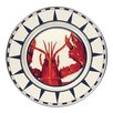 """<strong>11"""" Lobster Dinner Plate</strong> by Golden Rabbit"""