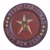 Craft Outlet Decorative Hanging Christmas Star Plate