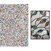 "Artscape 24"" x 36"" Decorative New Leaf Window Film"