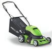 "Earthwise 18"" Cordless 24-Volt Electric Self Propelled Lawn Mower"