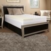 "Luxury Solutions 3.5"" Memory Foam and Fiber Mattress Topper"