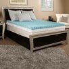 "Luxury Solutions 2"" Textured Gel Memory Foam Mattress Topper"
