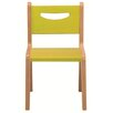 "Whitney Plus 12"" Birchwood Classroom Chair"