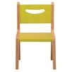 "Whitney Plus 10"" Birchwood Classroom Chair"