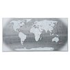 "Seletti ""The World"" Graphic Art Plaque"