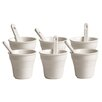 Seletti Estetico Quotidiano Coffee Cup with Stirrer (Set of 6)