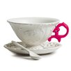 Seletti I-Wares 3 Piece Porcelain Tea Set (Set of 4)