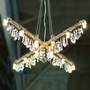 Michael McHale Designs Tribeca 12 Light X-Chandelier