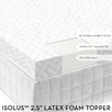 <strong>Latex Foam Mattress Topper</strong> by Malouf