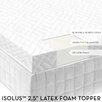 <strong>Latex Foam Mattress Topper</strong> by Malouf