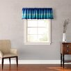 "Teen Vogue Electric Beach 86"" Curtain Valance"