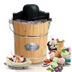 <strong>Gourmet 6-qt. Old Fashioned Pine Bucket Electric and Manual Ice Cre...</strong> by Elite by Maxi-Matic