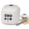 Elite by Maxi-Matic Gourmet 8-Cup Programmable Multifunction Rice Cooker