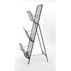 <strong>Metal Magazine Rack</strong> by Teton Home