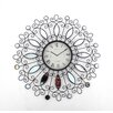 Teton Home Metal Wall Clock