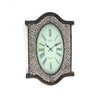 Teton Home Metal and Wood Wall Clock