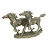 Premier Housewares Double Horse Sculpture