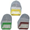 Iconic Pet Small Dome Top Bird Cage (Set of 6)