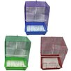 <strong>Iconic Pet</strong> Medium Flat Top Bird Cage (Set of 6)