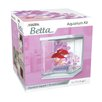 Marina by Hagen Marina 0.5 Gallon Flower Design Betta Aquarium Kit