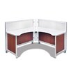Swiftspace Solo Corner Reception Desk