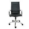 Woodstock Marketing Annie High-Back Executive Office Chair with Arms