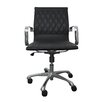 Woodstock Marketing Annie Mid-Back Executive Office Chair with Arms