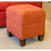 """Tory Furniture Mondo 18"""" Upholstered Square 4-Button Ottoman"""