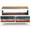 "EcoChic Lifestyles Cruise Control 40"" Reclaimed Wood TV Stand"