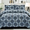 Cathay Home, Inc Modern Link 3 Piece Comforter Set (Set of 3)