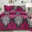 Cathay Home, Inc Anastasia 3 Piece Comforter Set (Set of 3)