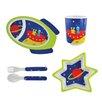 Knack3 Space Kids 5 Piece Dinnerware Set