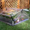 "Palram Double Polycarbonate 41"" x 41"" Cold Frame Greenhouse"