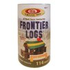 <strong>Ideal Classics</strong> Wood Construction 114 pieces Frontier Logs in Canister