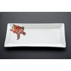 Kim Rody Creations Turtle Free Style 5'' Rectangle Serving Platter