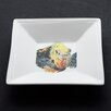 Kim Rody Creations Damsel Angelfish Square Tidbit Dish