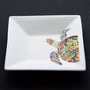 <strong>Navigator Turtle Square Tidbit Dish</strong> by Kim Rody Creations