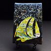 """Kim Rody Creations Ocean """"Porkfish"""" Giclee Print on Gallery Wrapped Canvas"""