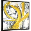 Hobbitholeco. Abstract Design I by Lottie Anderson Framed Painting