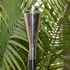 Starlite Garden and Patio Torche Co. Polished Tuxedo Tiki Torch