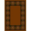 Milliken Design Center Country Clubs Dark Amber Rug