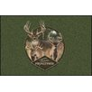 Milliken Realtree Green Team Realtree Bucks IX Area Rug