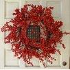 """Silk Flower Depot 30"""" Berry Wreath"""