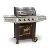 Teton Grills Classic Cabin Free Standing Gas Grill